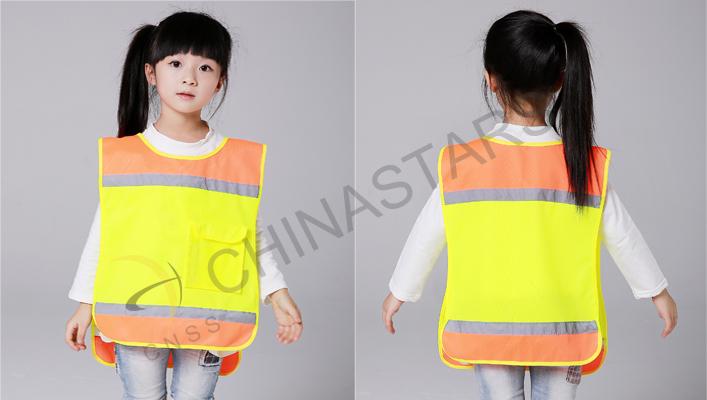 reflective vest for schoolchildren