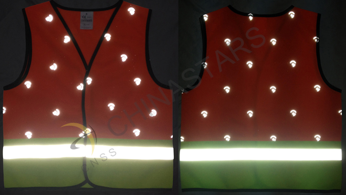 Fashion reflective vest for children