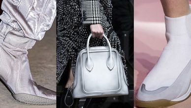 Major Catwalk trends on reflective fabric