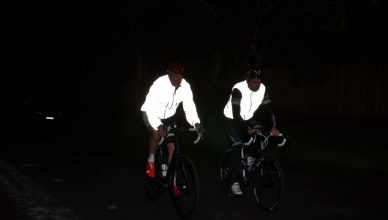 cyclists reflective vest