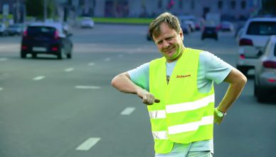 Reflective vests for drivers
